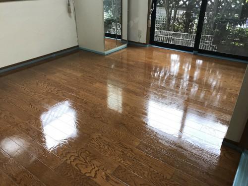 「愛犬の床」施工後